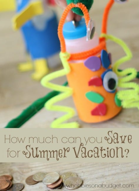 How much money can you save for summer vacation?