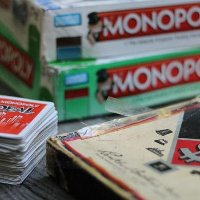 Monopoly Games Create Lasting Memories