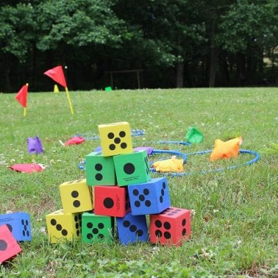 What do kids need to create Backyard Fun?