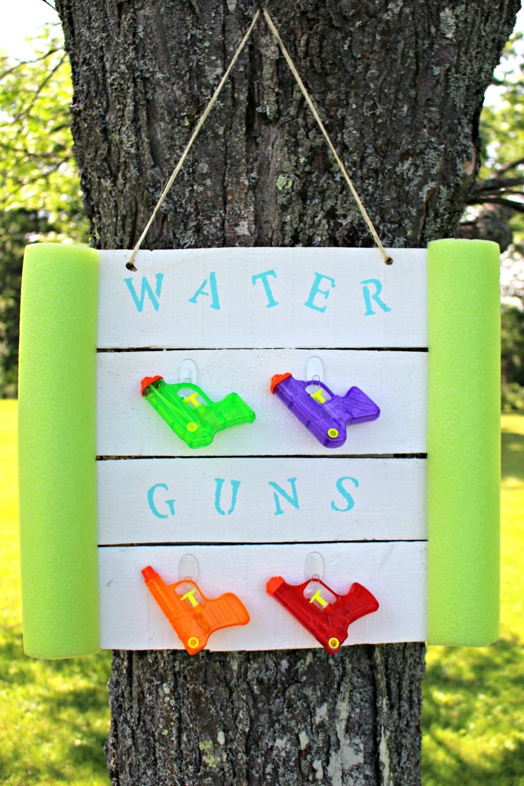DIY-Water-Gun-Holder