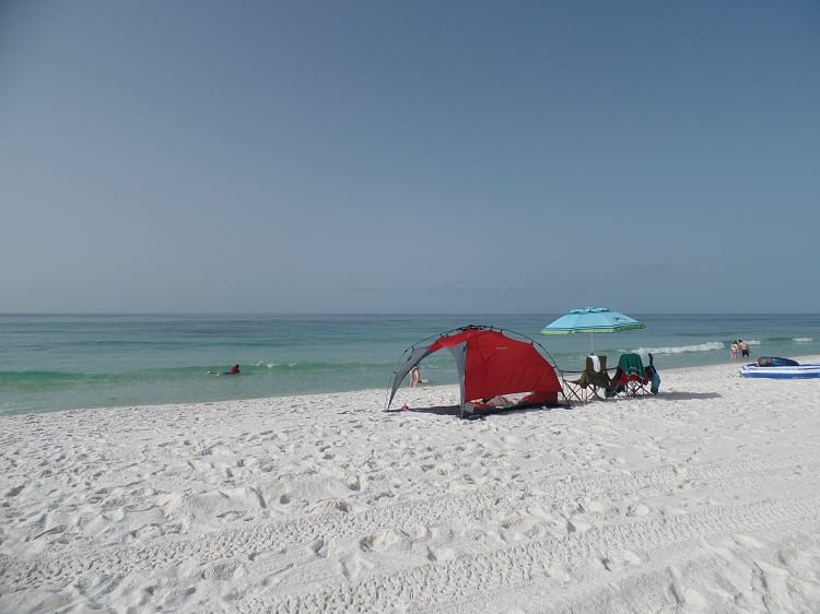 Beach Tents & Umbrellas to Keep you Cool