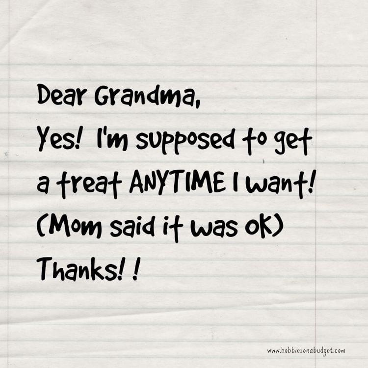 dear grandma treats