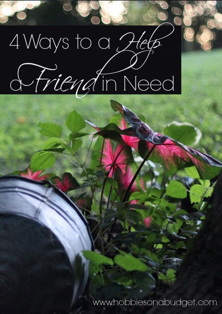 4 Ways to a Help a Friend in Need