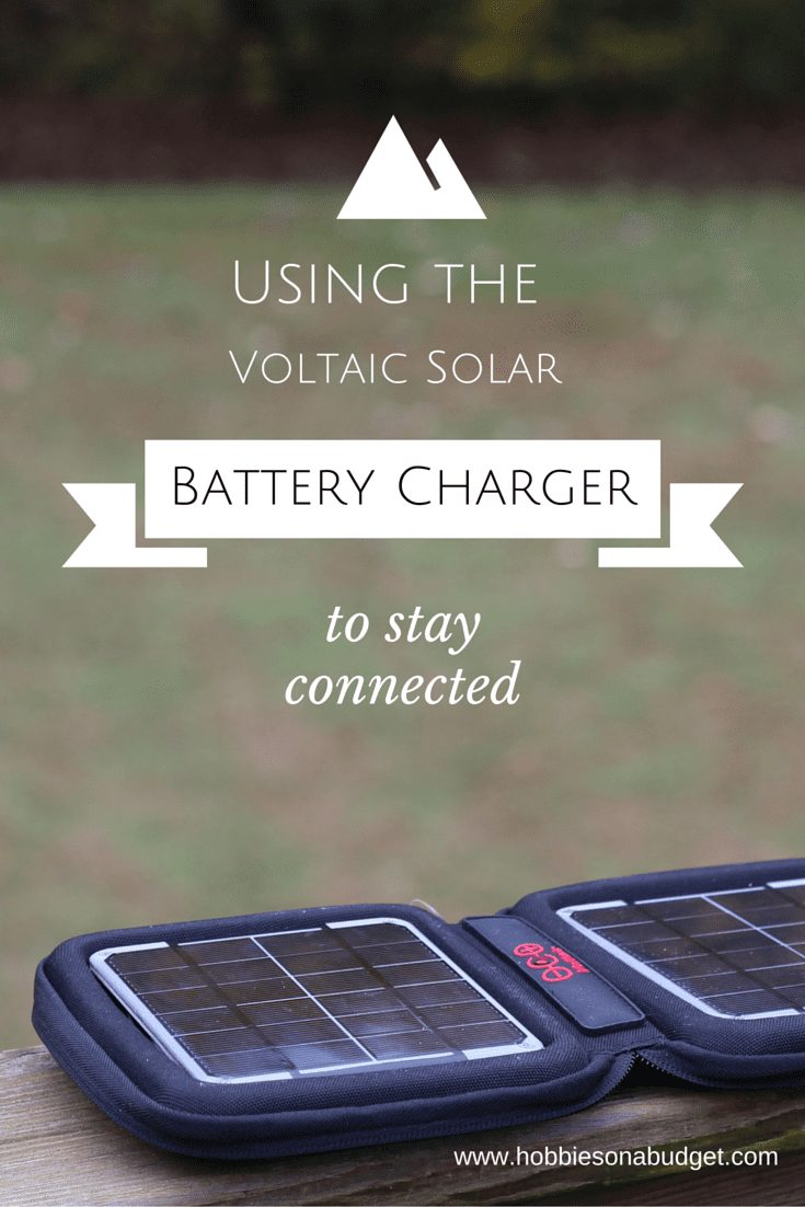Using the Voltaic Solar Battery Charger to Connect