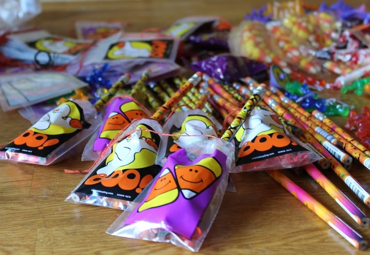candy for goodie bags
