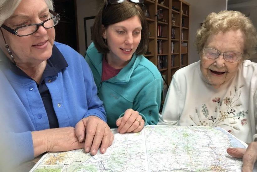 trip planning mom sharon grandma
