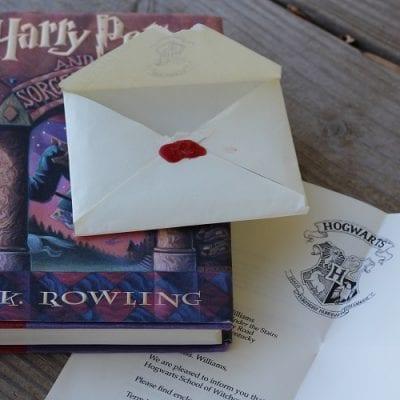 DIY Hogwarts Acceptance Letter