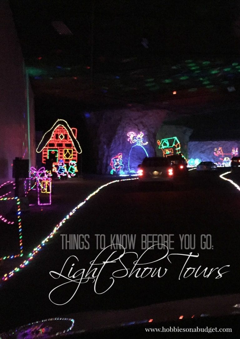 Things to Know:  Light Shows Tours