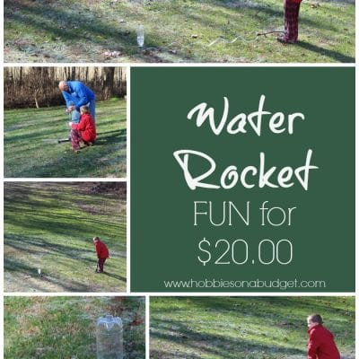 Water Rocket Fun for $20