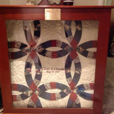 Christa's Wedding Ring Quilt