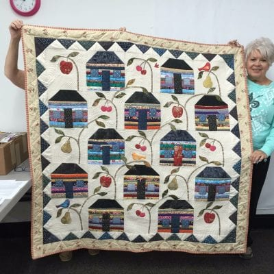 Another Quilt by Anne