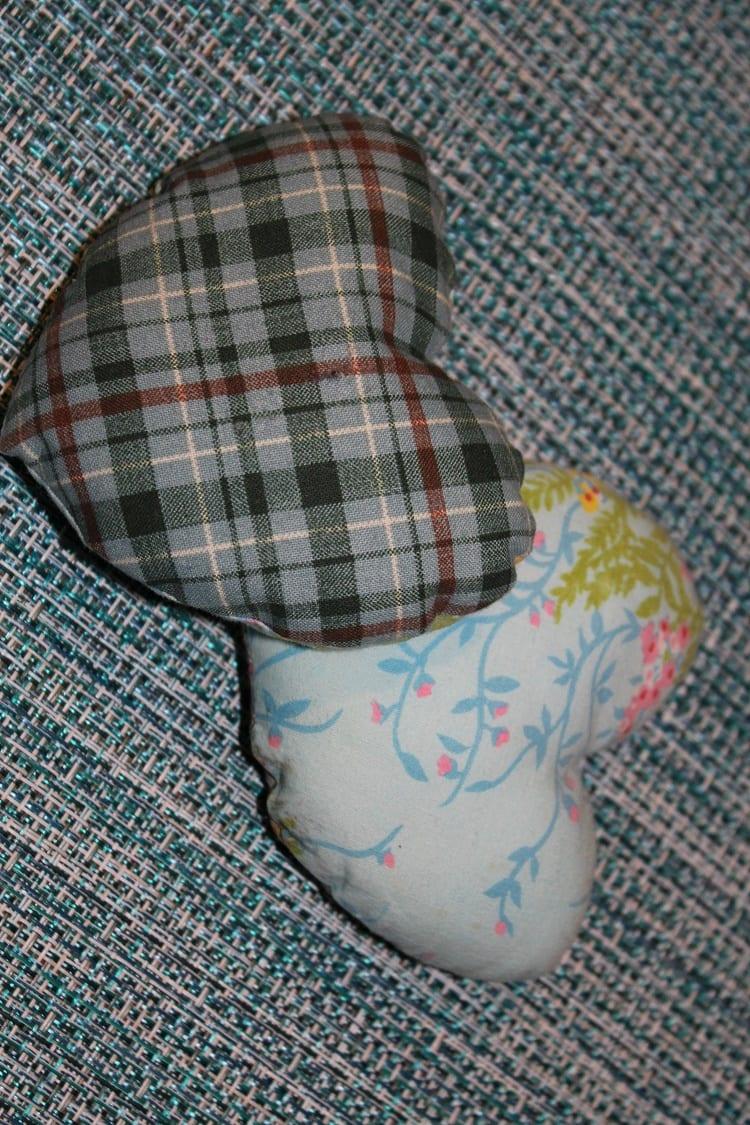 grandmother brown pillows 2
