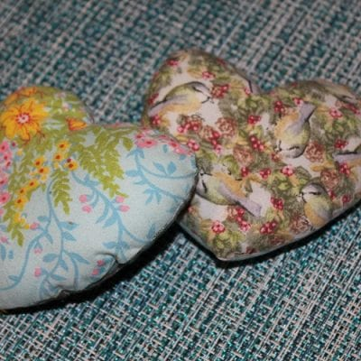 Quilted Hearts and Pillows