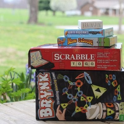 Scrabble to Go & Brynk