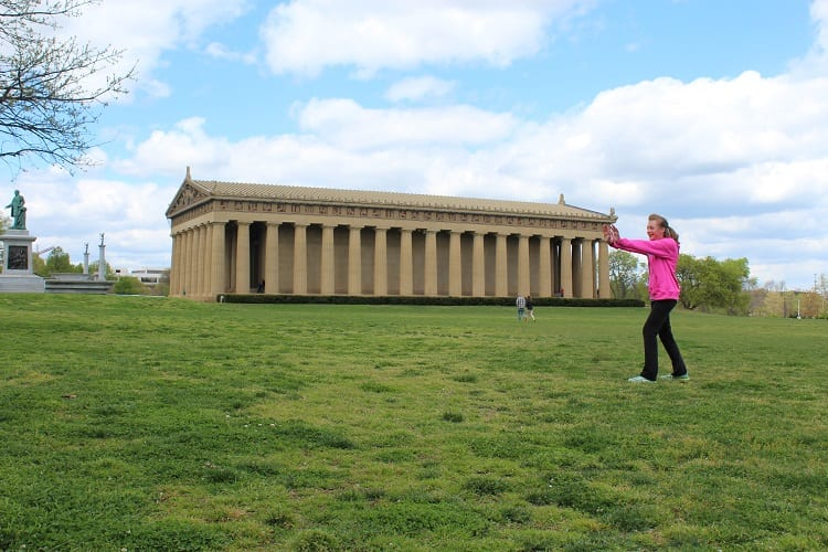 Visit the Parthenon in Nashville, Tennessee
