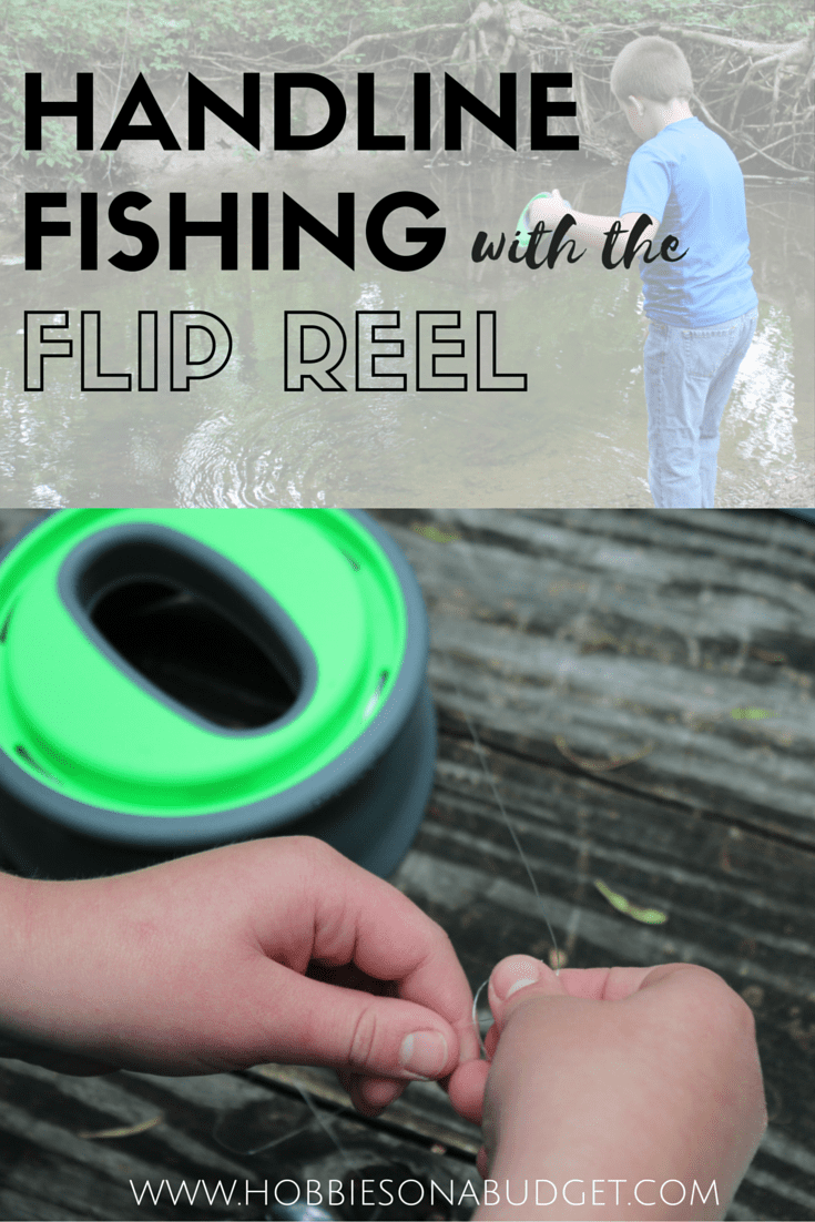 check out this cool piece of fishing gear called the Flip Reel!