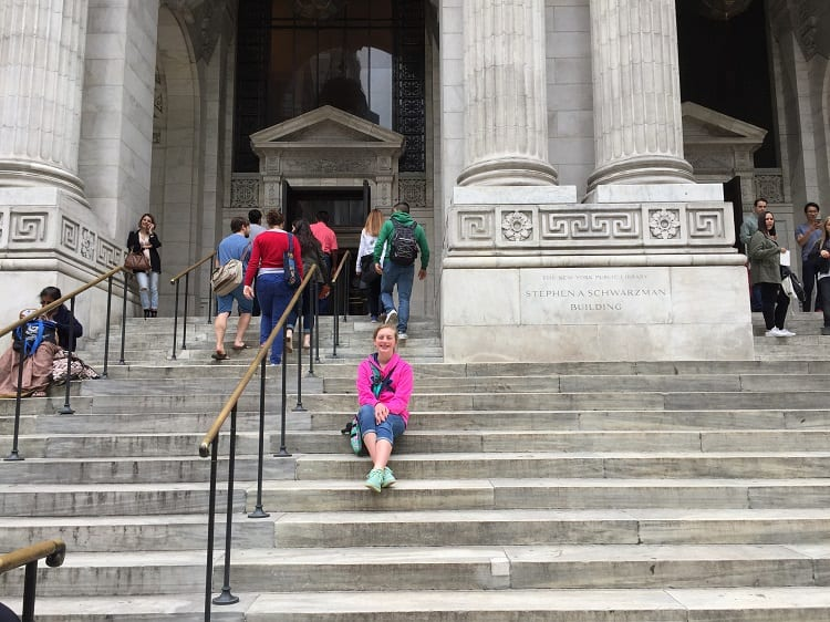 NYC public library natalie