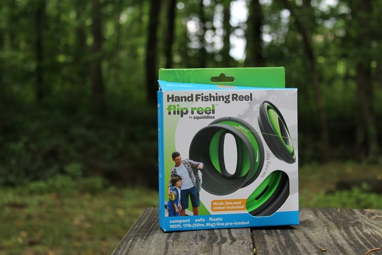 Flip Reel makes handline fishing easier