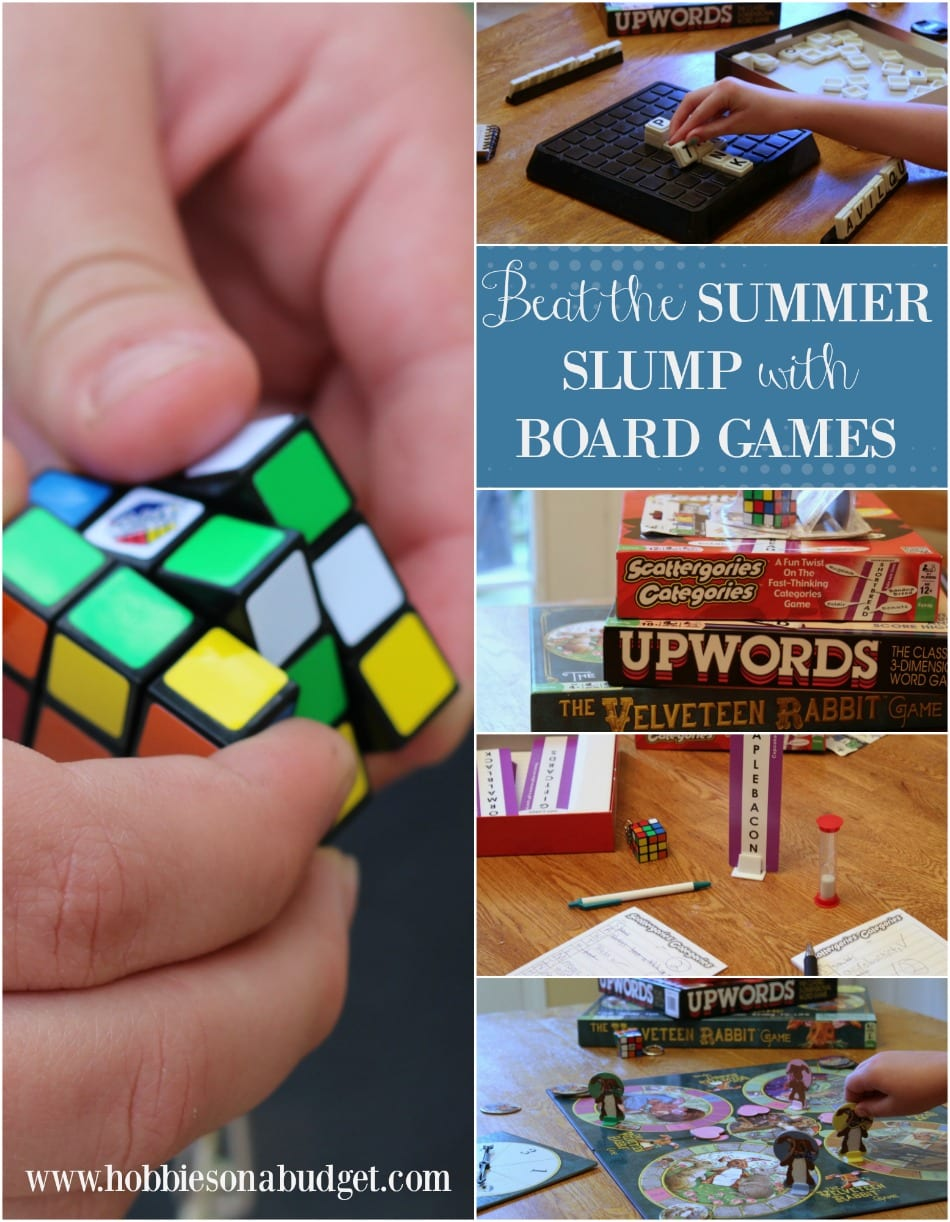 Beat the Summer Slump with board games