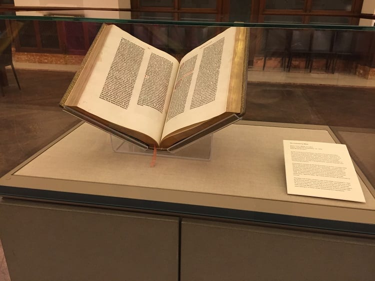 New York Public Library Gutenburg Bible
