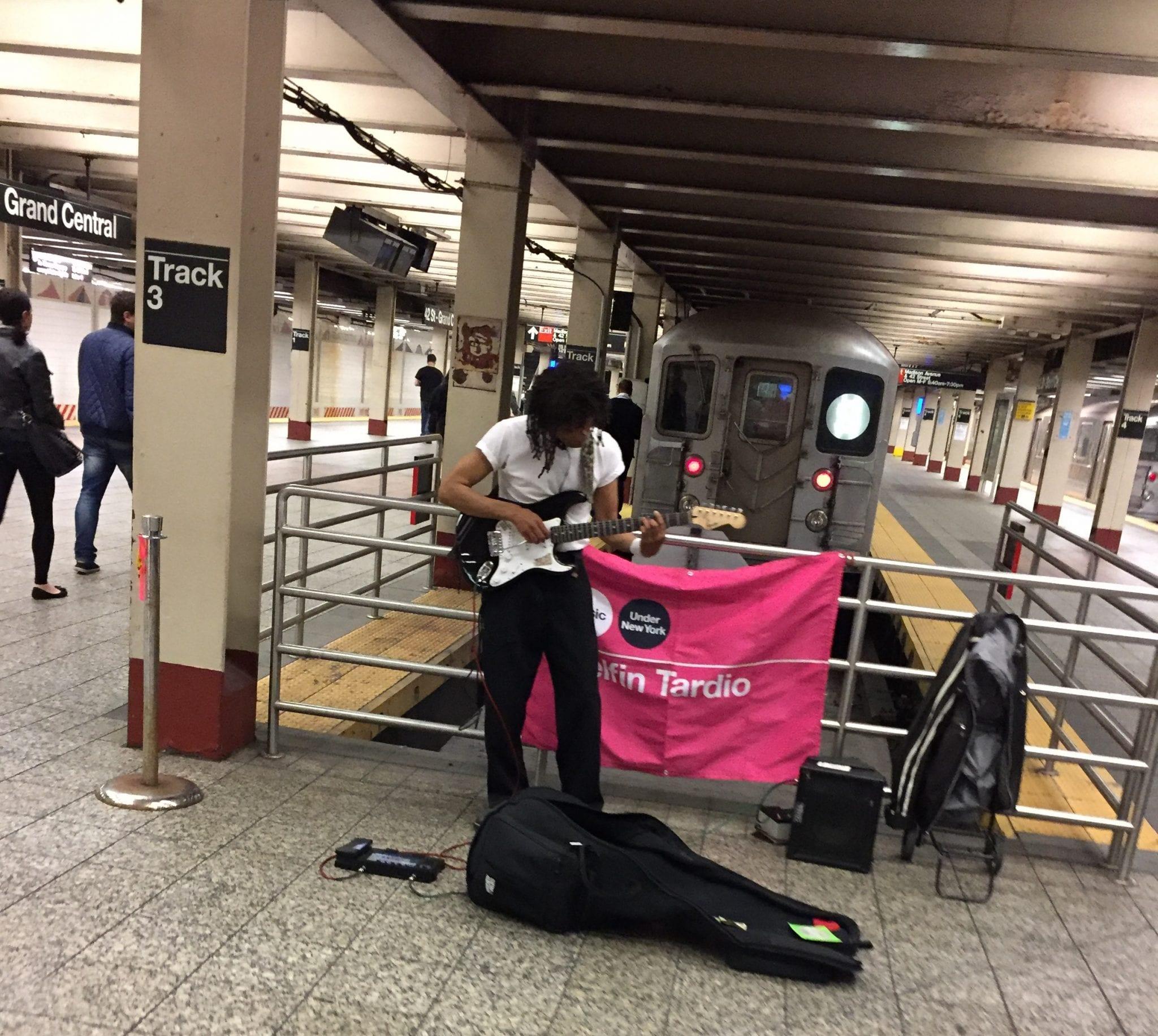 NYC Subway Musician