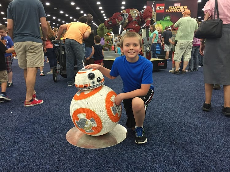 LEGOfest Louisville with BB8