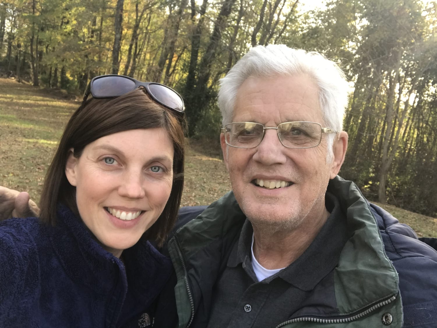 Dad and Sharon