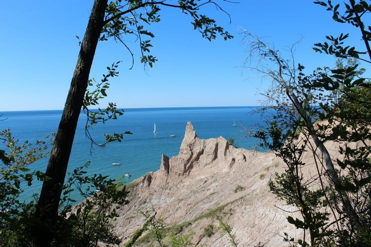 Chimney Bluffs State Park Lake Ontario