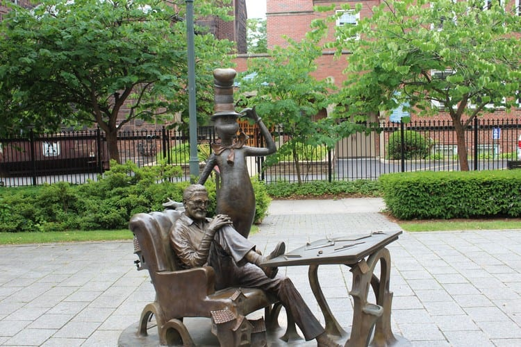 Dr Seuss Memorial Sculpture Garden