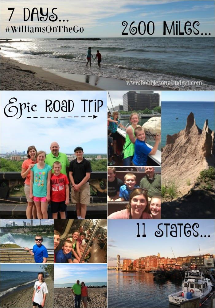 Epic Road Trip #williamsonthego