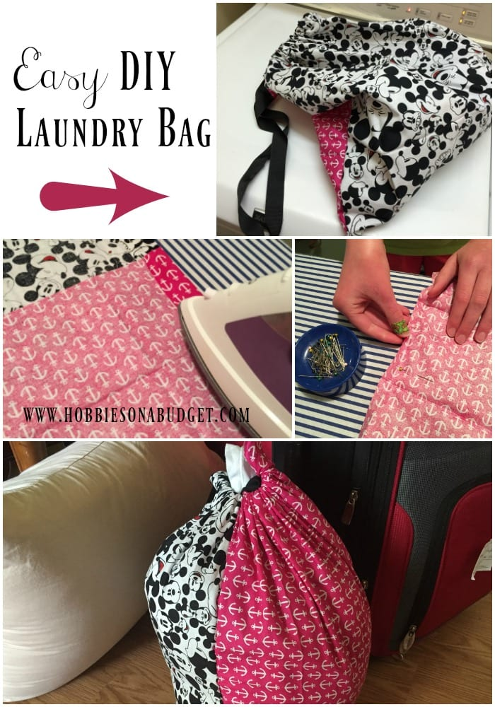 Easy DIY Laundry Bag