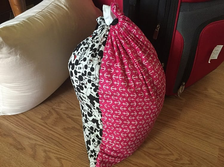 How to make a Laundry Bag in 15 minutes
