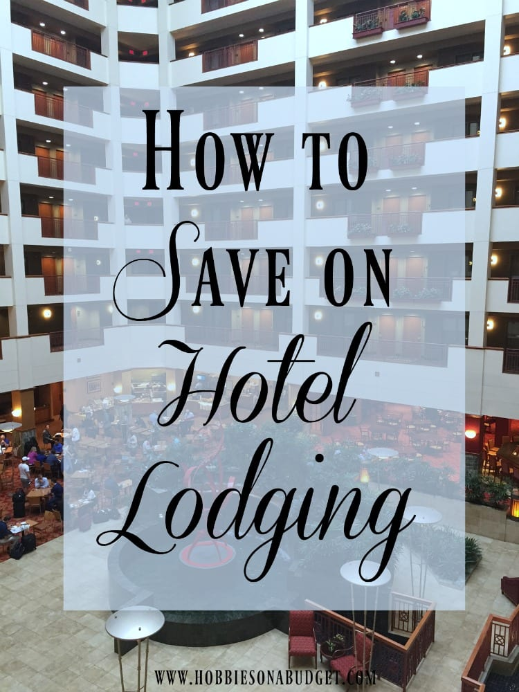 save on hotel lodging