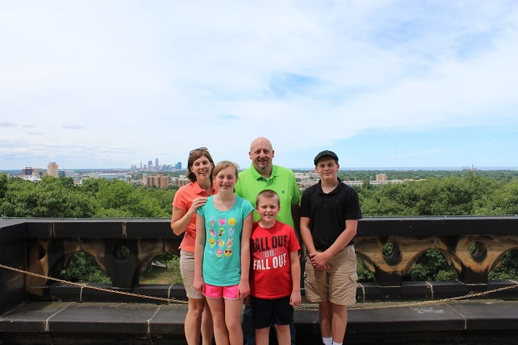 garfield monument family in cleveland