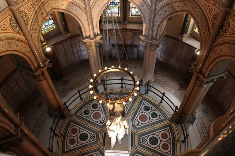 garfield monument inside rotunda