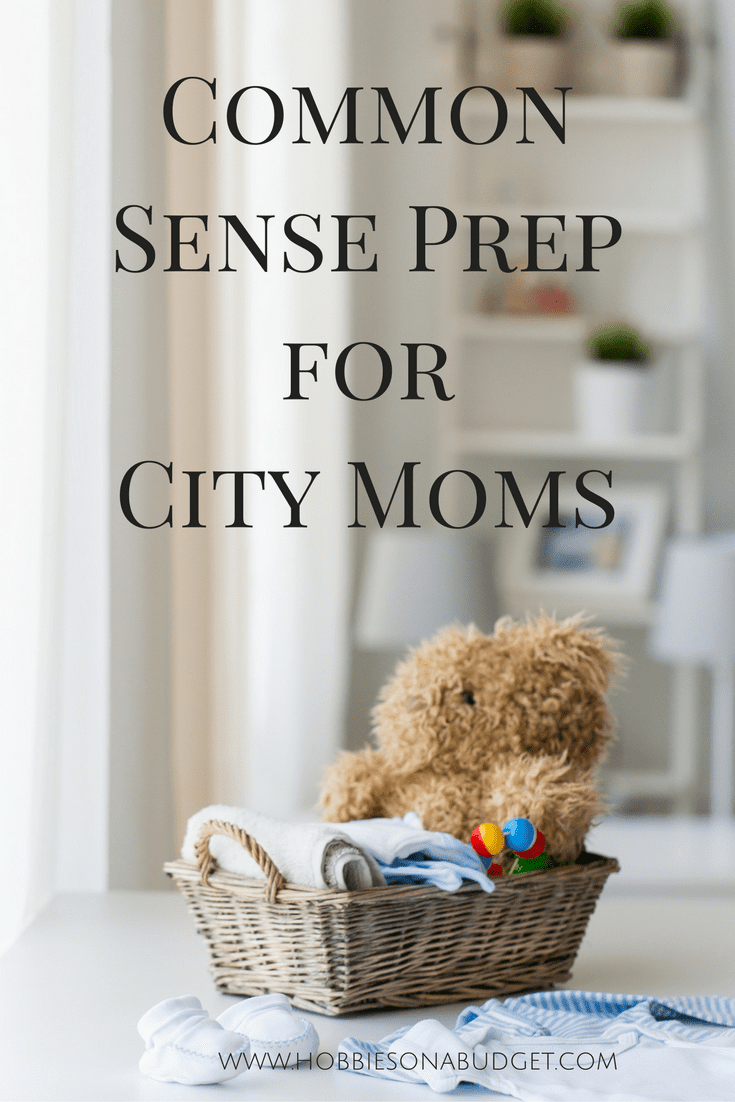 Common sense prep for city moms