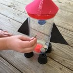 Easy Rocketship PiggyBank Craft