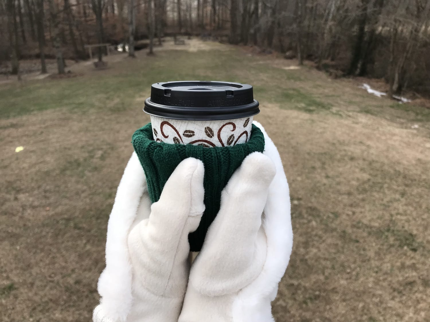 sweater cup coozie