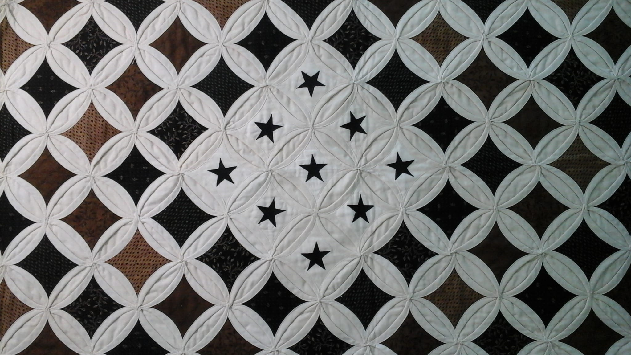 Brenda's Cathedral Window Quilts