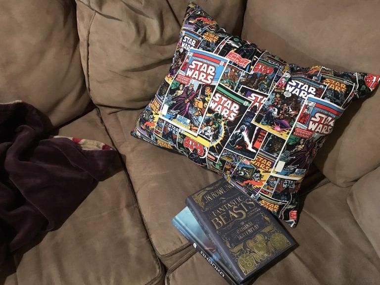 DIY Easy Star Wars Pillow