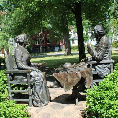 Learning about Susan B Anthony:  Rochester, NY