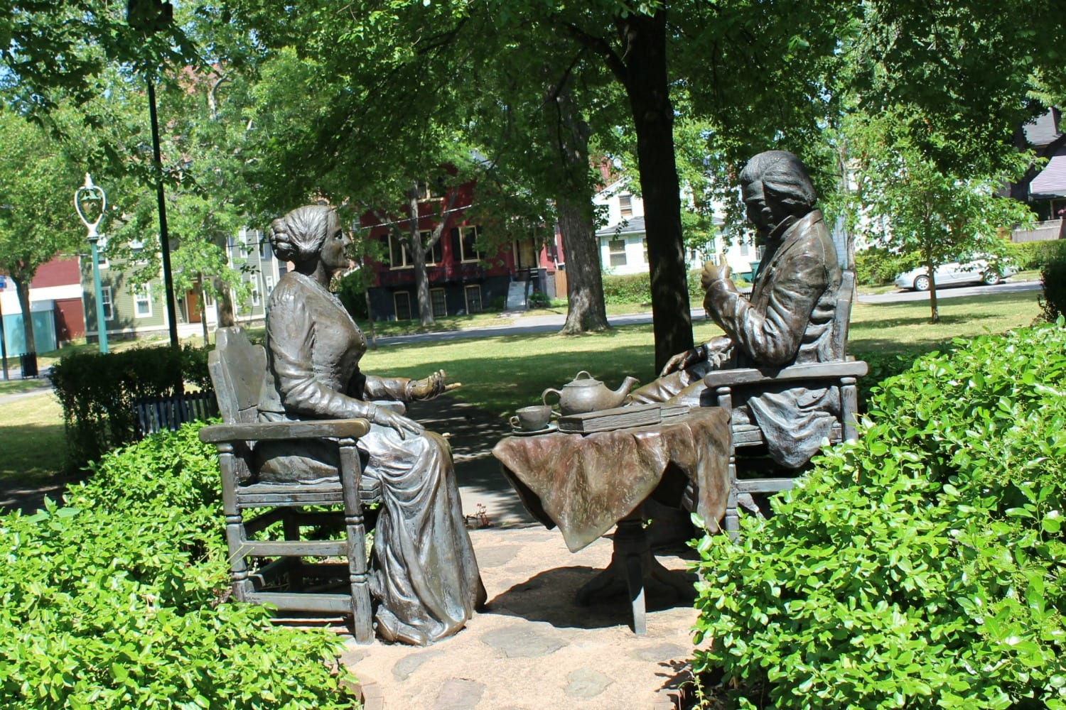 Learning about Susan B Anthony: Rochester NY