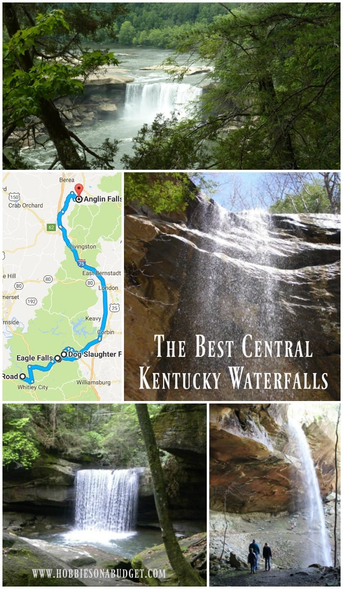 The Best Central Kentucky Waterfalls