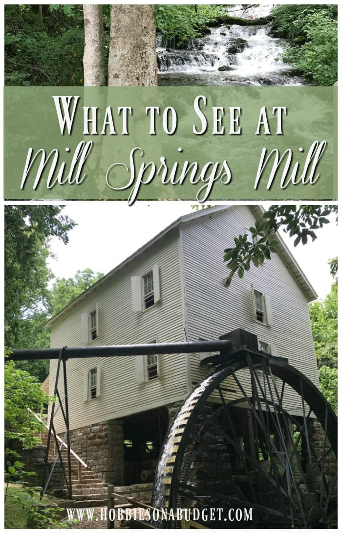 What to see at mill springs mill kentucky