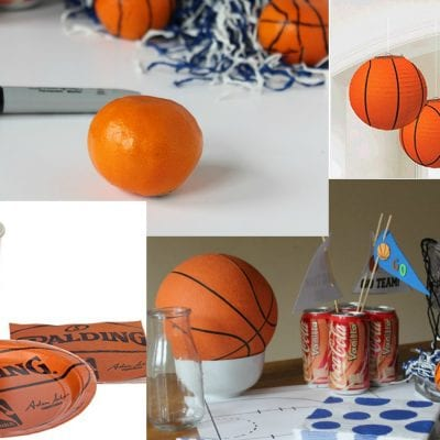 March Madness Party Decorations:  Less than $20