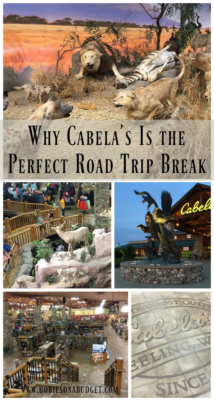 Why Cabelas is the perfect road trip break