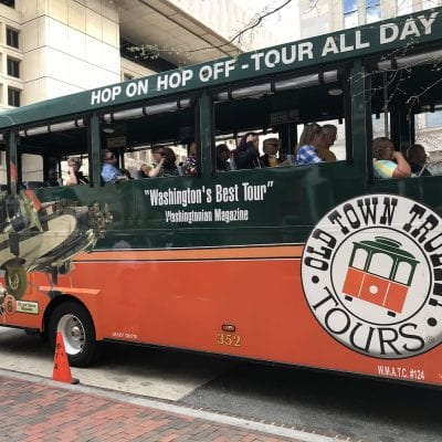 See the Capital: Old Town Trolley Tours