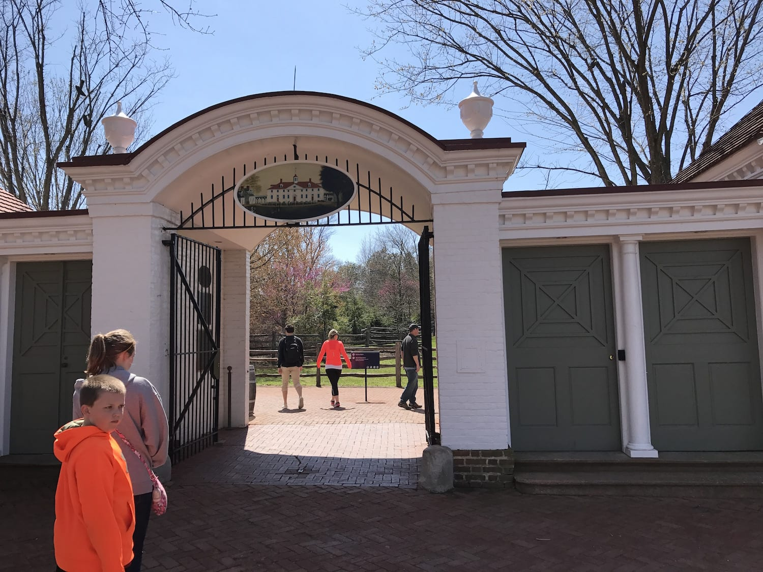 Visiting Washington's Mount Vernon