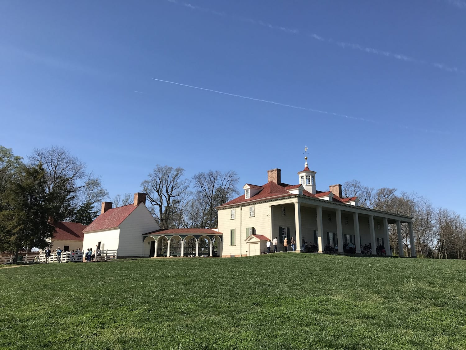 Visiting Washingtons Mount Vernon