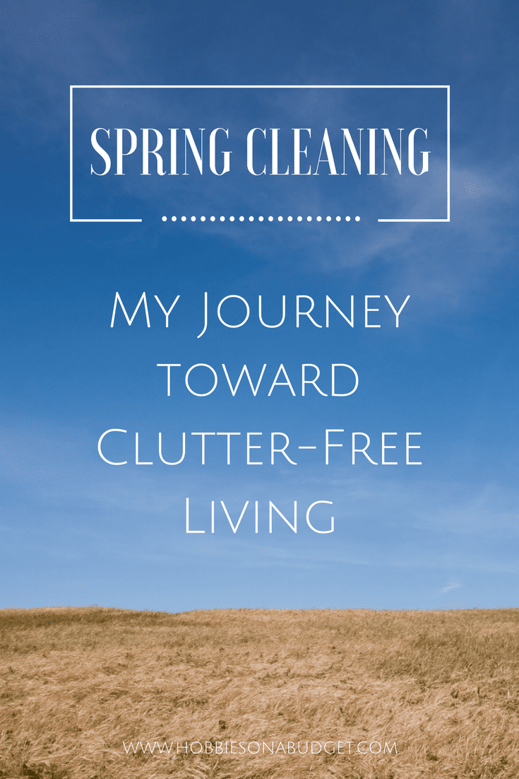 my journey toward clutter free living